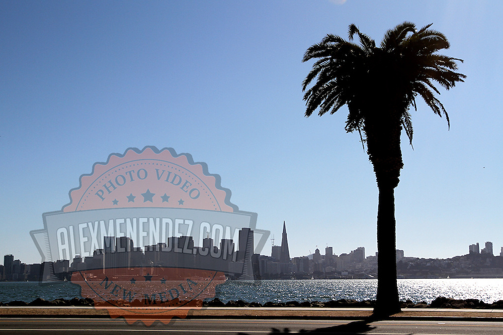 A wide view of the city skyline from the bay in San Francisco, California on Saturday, Sept. 17, 2011. (AP Photo/Alex Menendez). Golden Gate Bridge in San Francisco, California. Golden Gate Bridge in San Francisco, California.