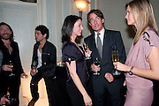 MAT COLLISHAW; TIM NOBLE; MARY MCCARTNEY; TIM JEFFERIES; MALIN JEFFERIES; , Dinner to mark 50 years with Vogue for David Bailey, hosted by Alexandra Shulman. Claridge's. London. 11 May 2010 *** Local Caption *** -DO NOT ARCHIVE-© Copyright Photograph by Dafydd Jones. 248 Clapham Rd. London SW9 0PZ. Tel 0207 820 0771. www.dafjones.com.<br /> MAT COLLISHAW; TIM NOBLE; MARY MCCARTNEY; TIM JEFFERIES; MALIN JEFFERIES; , Dinner to mark 50 years with Vogue for David Bailey, hosted by Alexandra Shulman. Claridge's. London. 11 May 2010