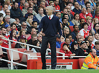 Football - 2016 / 2017 Premier League - Arsenal vs Southampton <br /> <br /> Arsenal Manager Arsene Wenger on the touch line  at the Emirates Stadium.<br /> <br /> <br /> Credit : Colorsport / Andrew Cowie