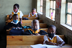 SOUTH AFRICA - Durban - 24 August 2020 - MEC of Education Kwazi Mshengu visited Isidingo Primary school under Umlazi district as part of monitoring schools functioninality following the phasing in of the other grades.<br /> Picture: Motshwari Mofokeng/African News Agency (ANA)