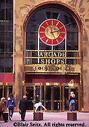 Pittsburgh, PA, Fifth Avenue Arcade Shops, Entrance, Food Court