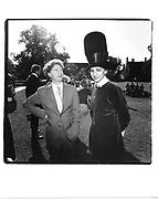 Malcolm McLaren and Selina Blow in Philip Treacy hat. Fraser wedding. 1991 approx. © Copyright Photograph by Dafydd Jones 66 Stockwell Park Rd. London SW9 0DA Tel 020 7733 0108 www.dafjones.com