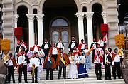 Royal Court, Iolani Palace, Honolulu, Oahu, Hawaii
