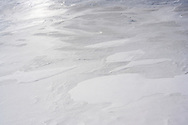 Schneestrukturen an den Flanken des Piz d'Arbeola nach heftigem Schneefall mit starkem Wind, San Bernardino, Misox, Graubünden, Schweiz /<br /> <br />  Snow structures on the flanks of Piz d'Arbeola after heavy snowfall with strong wind, San Bernardino, Misox, Grisons, Switzerland