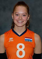 24-12-2019 NED: Photoshoot selection of Orange Youth Girls, Arnhem<br /> Orange Youth Girls 2019 - 2020 / Silke Bos #8