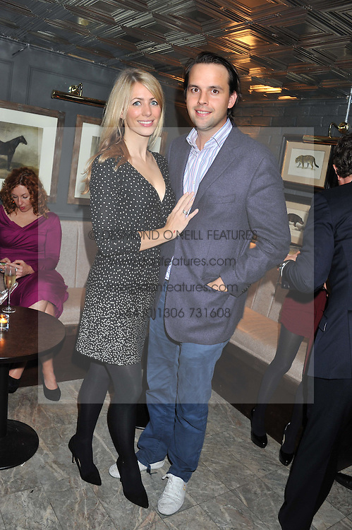 CHARLIE GILKES and ANNEKE VON TROTHA TAYLOR at the launch party for Barberella, 428 Fulham Road, London SW6 on 17th October 2012.