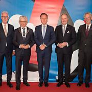NLD/Leeuwarden/20180127 - Alexander en Maxima openen Leeuwarden-Fryslân 2018, Wiebe Wieling, Burgemeester Ferd Crone, Tjeerd van Bekkum, .............