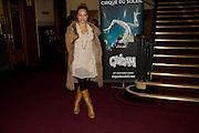 ANGELA GRIFFIN, Cirque de Soleil London premiere of Quidam. Royal albert Hall. 6 January 2009