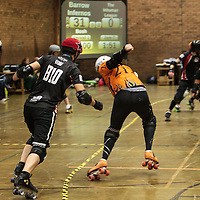 Barrow Infernos v The Inhuman League at the 2015 British Championships Tier 2 Finals, 2015-09-05