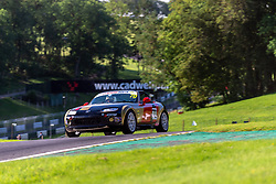 Xavier Brooke pictured while competing in the BRSCC Mazda MX-5 SuperCup Championship. Picture taken at Cadwell Park on August 1 & 2, 2020 by BRSCC photographer Jonathan Elsey
