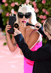 """Lady Gaga at the 2019 Costume Institute Benefit Gala celebrating the opening of """"Camp: Notes on Fashion"""".<br />(The Metropolitan Museum of Art, NYC)"""