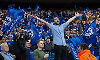 Chelsea fans celebrate their sides victory       <br /> <br /> <br /> Photographer Craig Mercer/CameraSport<br /> <br /> Emirates FA Cup Semi-Final - Chelsea v Tottenham Hotspur - Saturday 22nd April 2017 - Wembley Stadium - London<br />  <br /> World Copyright © 2017 CameraSport. All rights reserved. 43 Linden Ave. Countesthorpe. Leicester. England. LE8 5PG - Tel: +44 (0) 116 277 4147 - admin@camerasport.com - www.camerasport.com
