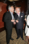 Stephen Bayley and Anton Mosimann, PJ's Annual Polo Party . Annual Pre-Polo party that celebrates the start of the 2007 Polo season.  PJ's Bar & Grill, 52 Fulham Road, London, SW3. 14 May 2007. <br />  -DO NOT ARCHIVE-© Copyright Photograph by Dafydd Jones. 248 Clapham Rd. London SW9 0PZ. Tel 0207 820 0771. www.dafjones.com.