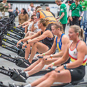 Kelsi PArker <br /> <br /> www.rowingcelebration.com Competing on Concept 2 ergometers at the 2018 NZ Indoor Rowing Championships. Avanti Drome, Cambridge,  Saturday 24 November 2018 © Copyright photo Steve McArthur / @RowingCelebration
