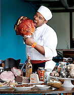 Donte Allen, charcuterie chef at The Table for the the 2014 Tastemakers. (Will Shilling/Crave)