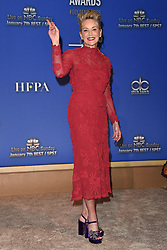 75th Annual Golden Globe Awards Nominations Announcement. The Beverly Hilton Hotel, Beverly Hills, CA. Pictured: Simone Alexandra Johnson. EVENT December 11, 2017. 11 Dec 2017 Pictured: Sharon Stone. Photo credit: AXELLE/BAUER-GRIFFIN/MEGA TheMegaAgency.com +1 888 505 6342