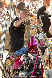 Boogie East Chopper Show at Annie Oakley's Saloon in Ormond Beach during Daytona Beach Bike Week, FL. USA. Friday, March 15, 2019. Photography ©2019 Michael Lichter.