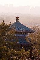Pagoda in Jingshan Park behind the Forbidden City in Beijing.