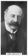 Alfred Moritz Mond, 1st Baron Melchett (1868-1930)  British industrialist and politician.  Chairman, Imperial Chemical Industries, 1926. Son of Ludwig Mond (1839-1909). Photograph (c1926).