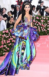 "Dua Lipa at the 2019 Costume Institute Benefit Gala celebrating the opening of ""Camp: Notes on Fashion"".<br />