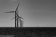 The wind farm across Foulger's Gat - an age old crossing of the Thames Estuary
