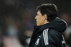 Chris Coleman manager of Wales - Mandatory by-line: Dougie Allward/JMP - Mobile: 07966 386802 - 24/03/2016 - FOOTBALL - Cardiff City Stadium - Cardiff, Wales - Wales v Northern Ireland - Vauxhall International Friendly