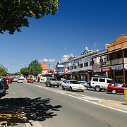 The main street of Cooma in New South Wales