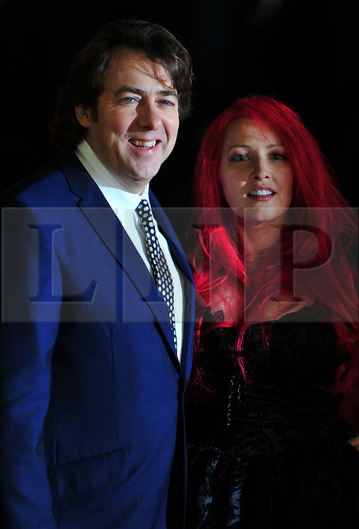© Licensed to London News Pictures. 24/01/2012. London, England. Jonathan Ross and Jane Goodman attends the world premiere of The Woman in Black , Hammer Films new horror movie at The Royal Festival hall  London  Photo credit : ALAN ROXBOROUGH/LNP