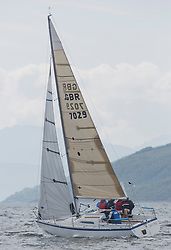 Day three of the Silvers Marine Scottish Series 2016, the largest sailing event in Scotland organised by the  Clyde Cruising Club<br /> Racing on Loch Fyne from 27th-30th May 2016<br /> <br /> GBR7029, Farr e Nuff, John Kent, LSC/FYC, Farr 727<br /> <br /> Credit : Marc Turner / CCC<br /> For further information contact<br /> Iain Hurrel<br /> Mobile : 07766 116451<br /> Email : info@marine.blast.com<br /> <br /> For a full list of Silvers Marine Scottish Series sponsors visit http://www.clyde.org/scottish-series/sponsors/