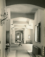 1926 Entrance lobby and corridor at the Hollywood Studio Club on Lodi Pl.