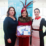 08.10.17.            <br /> Pictured at Limerick Racecourse for the Keanes Most Stylish Lady competition, left to right, Karen Shanahan Limerick Racecourse, 3rd place Diana Hilliard, Listowel and Amy O'Regan, Limerick Racecourse. Picture: Alan Place