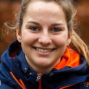 NLD/Oranjewoud/20171222 - Perspresentatie leden schaatsteam Justlease,