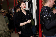 ABJORKA. OPENING OF 'THE CONVENIENCE STORE' AT ST. MARTIN'S LANE HOTEL. London. 19 March 2009