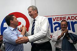 José Fortunati durante inauguração do comitê de Mauro Zacher. FOTO: Jefferson Bernardes/Preview.com