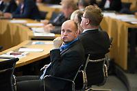 DEU, Deutschland, Germany, Erfurt, 05.12.2014:<br /> Jens Krumpe, MdL, Alternative für Deutschland (AfD), am Tag der Ministerpräsidentenwahl im Plenum des Landtags.