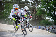 #26 (DARNAND Simba) FRA during practice at Round 5 of the 2018 UCI BMX Superscross World Cup in Zolder, Belgium
