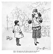 """Mother. """"Do sound your 'H,' Sylvia, when you call Hector."""" Sylvia. """"Oh, mummy, what waste of breath on a dog!"""""""