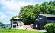 Henley on Thames, England, United KingdomFriday, 02/07/2021, Refreshment Point, 8 No. Converted shipping containers offering food and drinks,  sited on Upper Thames Rowing Club land, Henley Women's Regatta, Henley Reach,  [Peter Spurrier/Intersport Images],