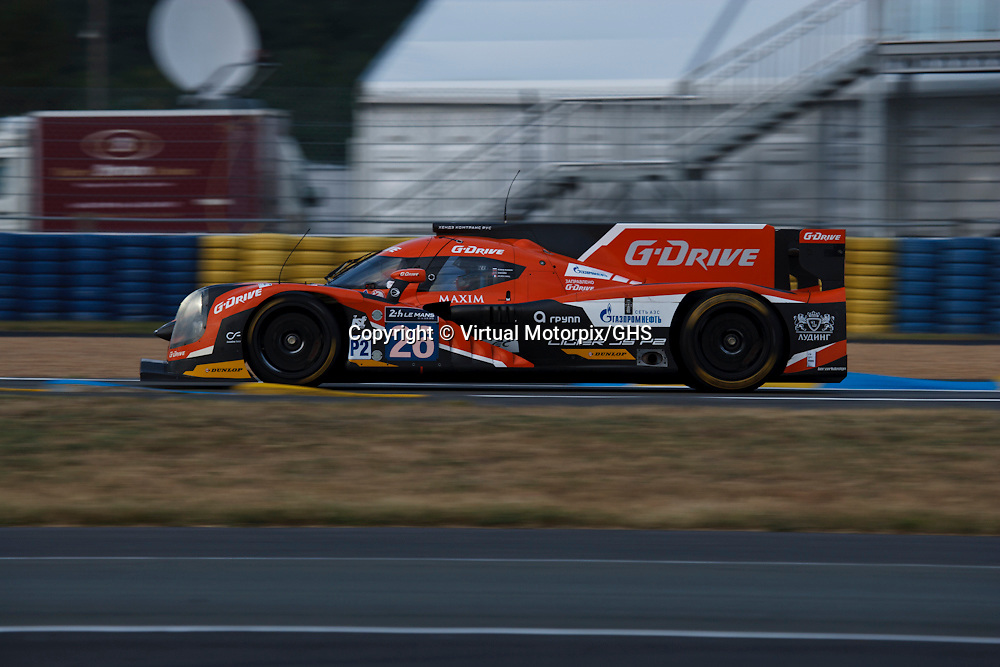 #26, Ligier JS P2 - Nissan, G-Drive Racing, Sam Bird, Julien Canal, Roman Rusinov, Le Mans 24H, 2015