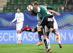 23.09.2015, Keine Sorgen Arena, Ried, AUT, OeFB Samsung Cup, SV Josko Ried vs RZ Pellets WAC, 2. Runde, im Bild Strafraumszene // during OeFB Cup, 2nd round Match between SV Josko Ried and RZ Pellets WAC at the Keine Sorgen Arena, Ried, Austria on 2015/09/23. EXPA Pictures © 2015, PhotoCredit: EXPA/ Roland Hackl