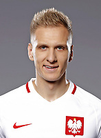 Uefa - World Cup Fifa Russia 2018 Qualifier / <br /> Poland National Team - Preview Set - <br /> Łukasz Teodorczyk