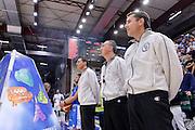 DESCRIZIONE : Beko Legabasket Serie A 2015- 2016 Dinamo Banco di Sardegna Sassari - Olimpia EA7 Emporio Armani Milano<br /> GIOCATORE : Manuel Attard Carmelo Paternicò Emanuele Aronne<br /> CATEGORIA : Arbitro Referee Before Pregame<br /> SQUADRA : AIAP<br /> EVENTO : Beko Legabasket Serie A 2015-2016<br /> GARA : Dinamo Banco di Sardegna Sassari - Olimpia EA7 Emporio Armani Milano<br /> DATA : 04/05/2016<br /> SPORT : Pallacanestro <br /> AUTORE : Agenzia Ciamillo-Castoria/L.Canu