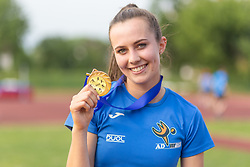 Aneja Simoncic posing during day 2 of Slovenian Athletics Cup 2019, on June 16, 2019 in Celje, Slovenia. Photo by Peter Kastelic / Sportida