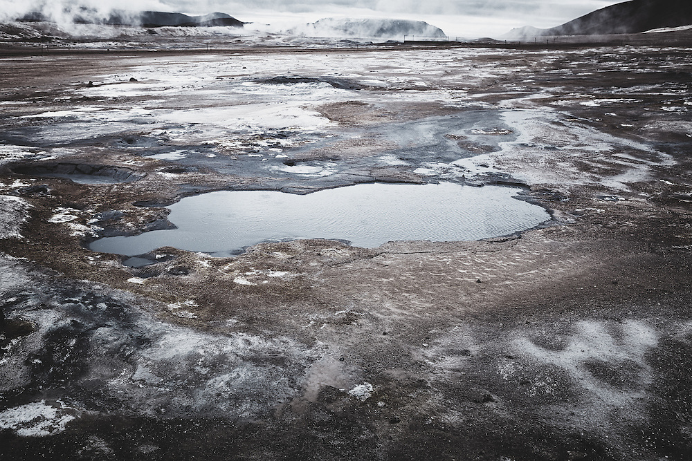Water and steam, Krafla