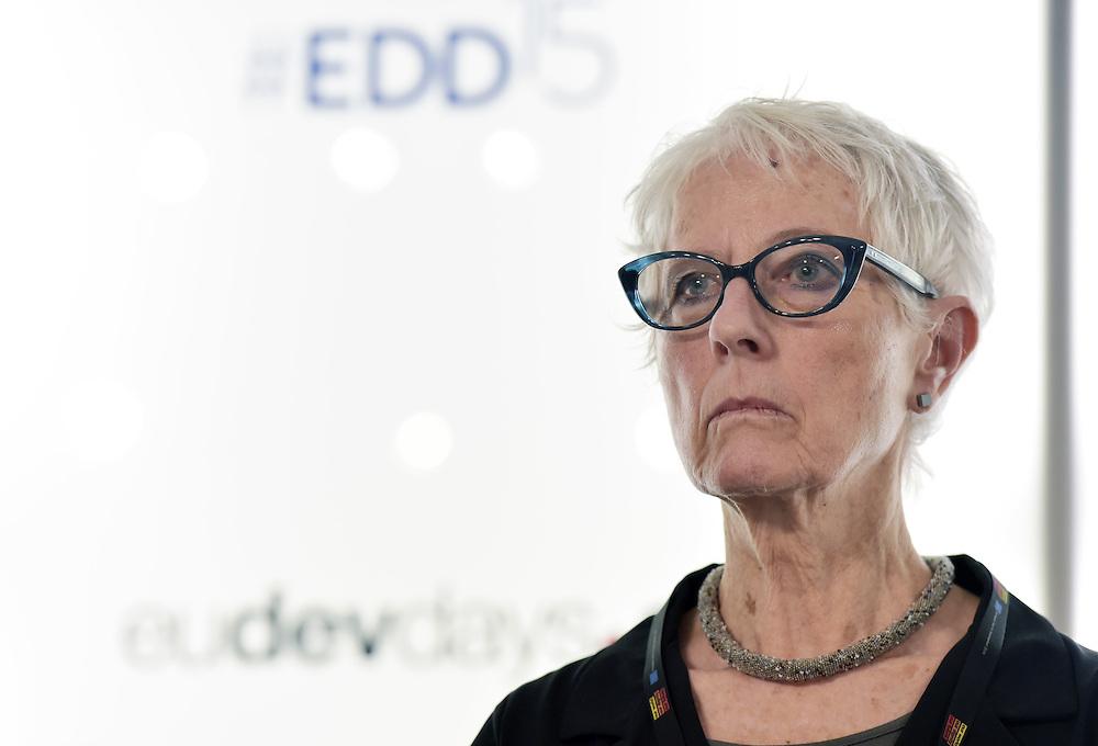 03 June 2015 - Belgium - Brussels - European Development Days - EDD - Financing - Financing sustainable development - Addressing vulnerabilities - Inge Kaul , Professor © European Union
