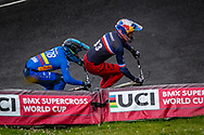 2021 UCI BMXSX World Cup<br /> Round 4 at Bogota (Colombia)<br /> Main<br /> ^me#33 DAUDET, Joris (FRA, ME) Shimano, Chase, FLY<br /> ^me#278 RAMIREZ YEPES, Carlos Alberto (COL, ME) GW
