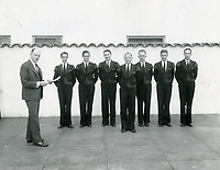 1930 Bellboys at the Hollywood Roosevelt Hotel