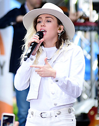 """Miley Cyrus performs at """"Today Show"""" in New York City. 26 May 2017 Pictured: Miley Cyrus. Photo credit: MEGA TheMegaAgency.com +1 888 505 6342"""