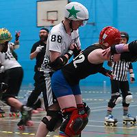 Team Crazy Legs meet Engine of Fury in the MRD Sevens Tournament Final, at Salford University Sports Centre, 2018-03-04