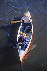 Canoeing On The Concord River